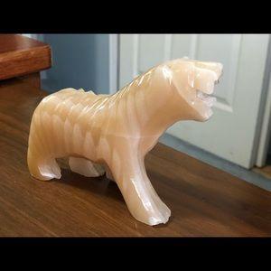 Other - Carved Onyx Fierce Polar Bear